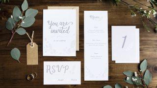 招待状を手作りするときに注意すること
